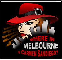 Where in Melbourne is Carmen Sandiego 2010 - Stefasaurus Productions