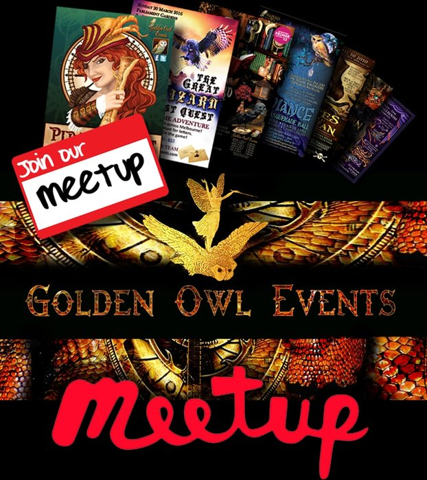 Join Golden Owl Events on Meet Up